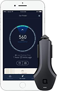nonda ZUS Smart Car Charger - 24W 4.8A with 2 USB Ports, Car Battery Health Monitor, Car Finder, Mileage Record, No OBD Required