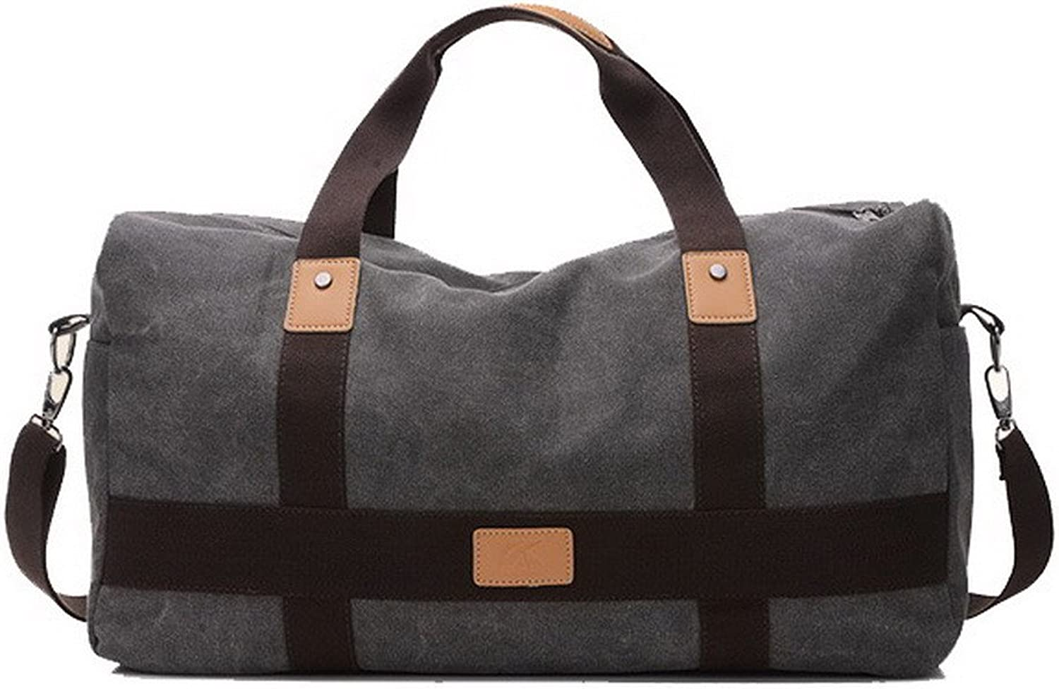 AmoonyFashion Women's Travel Canvas Travel Totes Tote-Style Shoulder Bags, BUTBS181460