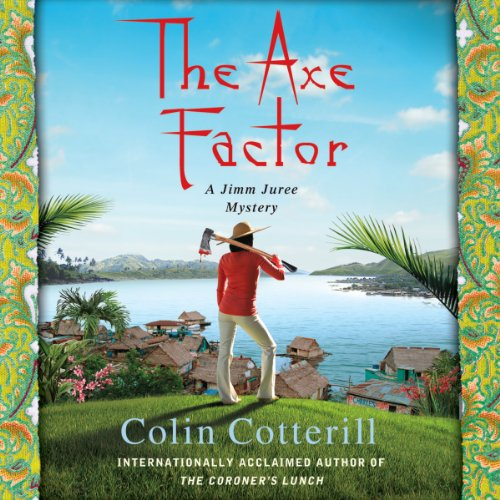 The Axe Factor audiobook cover art