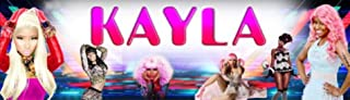 "Nicki Minaj - 8.5""x30"" Personalized Name Poster, Customize Name Sign, Birthday Party Banner"