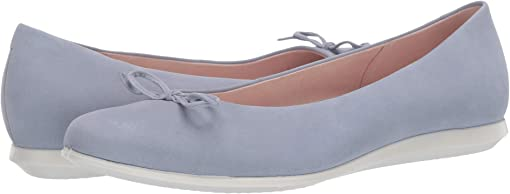 Dusty Blue Cow Nubuck