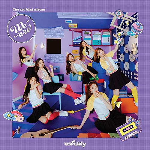 Play M Entertainment WEEEKLY - We Are (1st Mini Album) Album+Folded Poster
