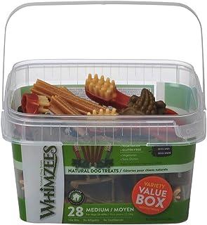 Whimzees Dog Dental Treats Variety Value Box Medium 28pcs