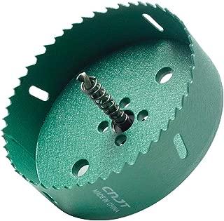 LICTOP 120mm/4.72'' BI -Metal Wood Hole Saws Bit Tooth Cutting for Cornhole Board Metal Plastic Fiberboard,Green