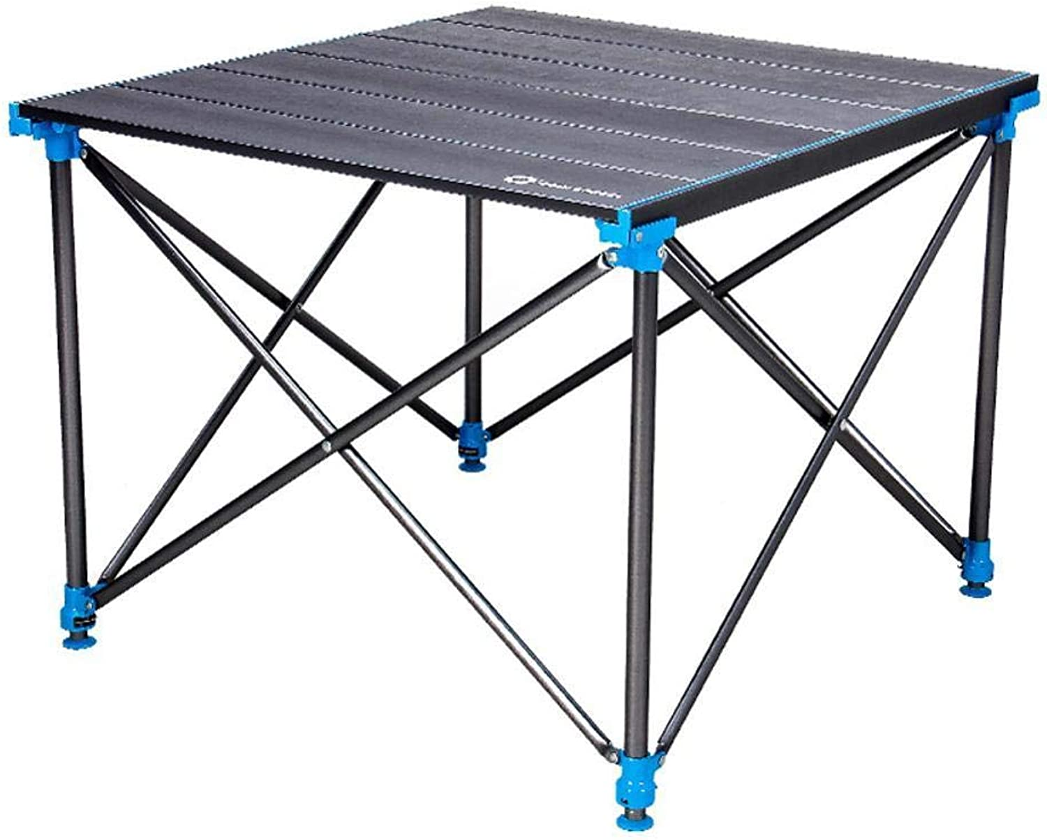 Mzl Outdoor Folding Table Aluminum Picnic Table Portable Ultralight Camping Simple Table (70  63  50 70cm)