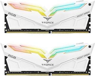 16GB Team T-Force Night Hawk RGB DDR4 3200MHz PC4-25600 CL16 Dual Channel Kit (2x 8GB)
