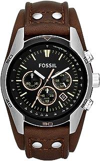 ساعت مچی مردانه Fossil با بند چرمی