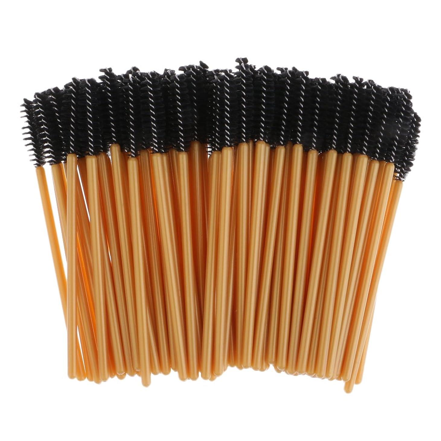 モーションアンタゴニスト資格情報Kesoto 約100個 まつ毛ブラシ 使い捨て マスカラワンド メイクブラシ 超柔らか ナイロンブラシ メイクアップ 化粧