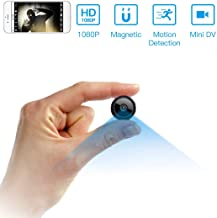 Spy Camera Wireless Hidden WiFi Camera HD 1080P Mini Camera Portable Home Security Cameras Covert Nanny Cam Small Indoor Video Recorder Motion Activated/Night Vision Remote Monitor Phone App