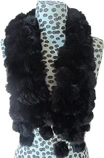 Best pom pom rabbit fur scarf Reviews