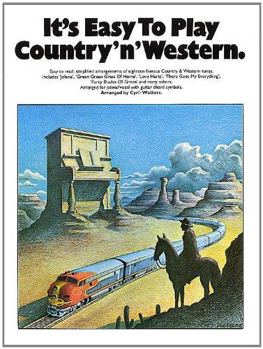It's Easy To Play Country 'N' Western (Album): Noten für Klavier
