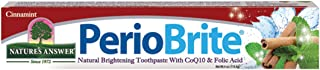 Nature's Answer PerioBrite Toothpaste, Cinnamint, 4-Ounces Natural Flouride Free with CO Q10