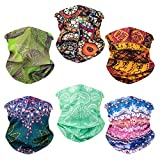 Toes Home 6PCS Outdoor Magic Headband Elastic Seamless Bandana Neck...