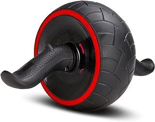 COVVY 腹筋ローラー エクササイズローラー アブホイール リバウンド機能 自動回弾 腹筋器具 腹筋トレ 超静音 多角度回転 安定 滑り止め 全身部位適用 取り付け簡単 耐荷重500kg 膝マット付き 男女兼用