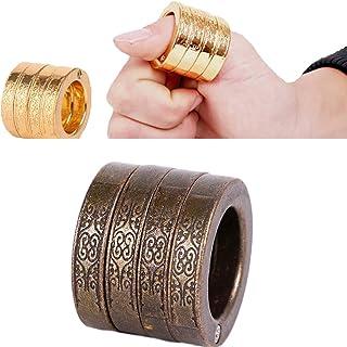 Self Defense Ring Titanium Steel Indestructible Personal Defense Ring for Self Defense/Personal Decoration/Broken Window E...