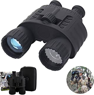SSeir Outdoor HD Digital Night Vision Device Binoculars, Portable 4X50 Telescope Infrared for Wildlife Day and Night Hunt Patrol
