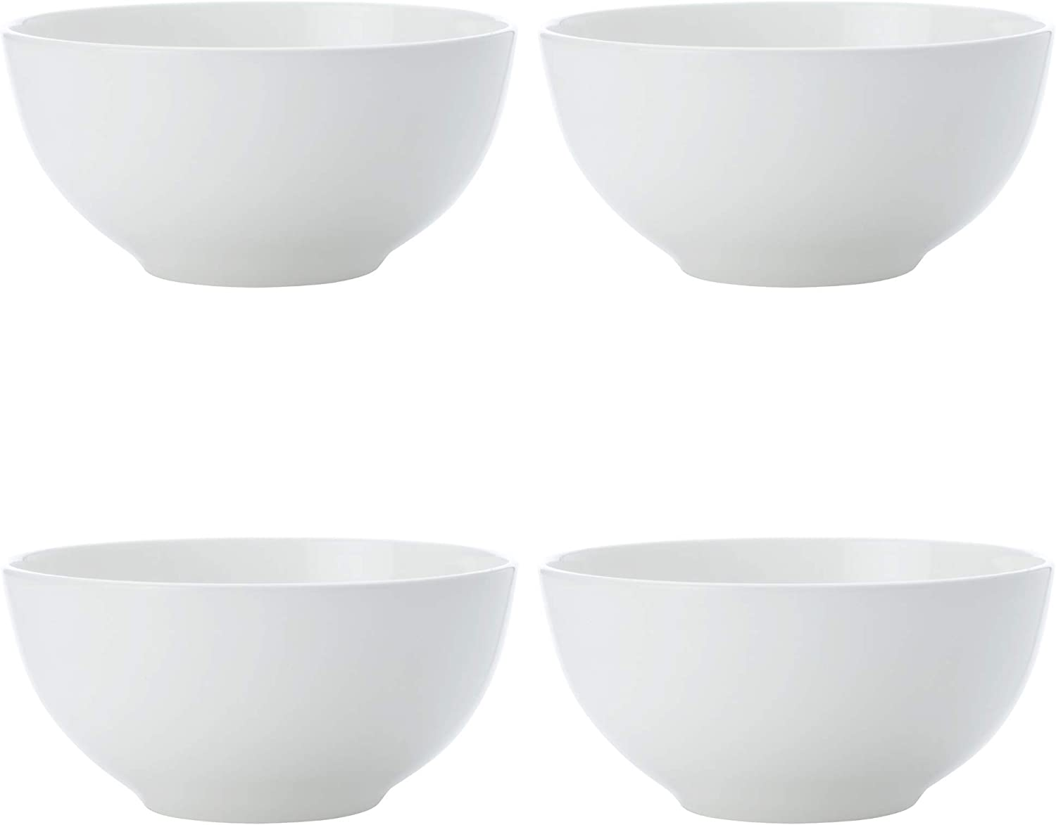 10 cm Fine Bone China Maxwell /& Williams Cashmere Small Bowls for Rice or Dipping Set of 4 White