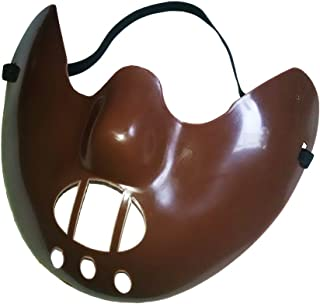 Forum Unisex-Adult's Plastic Muzzle Hannibal The Cannibal Mask, brown, Standard