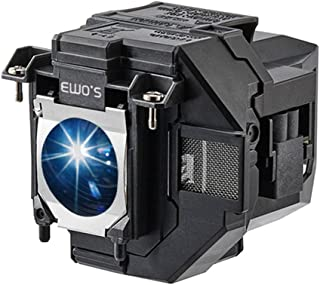 EWO'S Replacement Projector Lamp for ELPLP96 Epson Powerlite Home Cinema 2100 2150 1060 660 760hd VS250 VS350 VS355 EX9210...