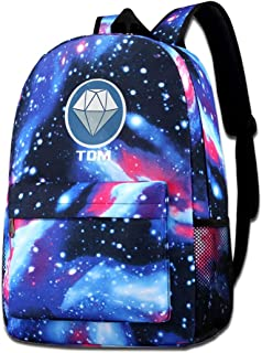 JoshuaEHenderson Galaxy School Backpack DanTDM Backpack Unisex Nebula Travel Backpack