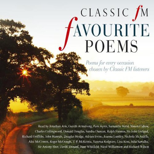 Classic FM Favourite Poems audiobook cover art