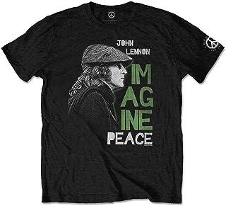 John Lennon Imagine Peace T-Shirt Homme