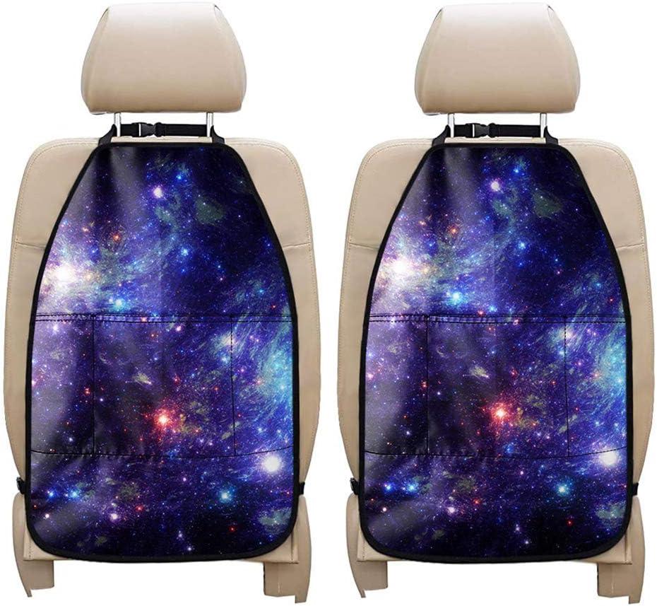 UNICEU Galaxy Directly Translated managed store Blue Kick Mat Auto Durable Back C Seat Protectors