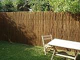 Prestige Wicker 300-09 Willow Fence Screening Rolls 3 Meters Long (30 feet/90 cm), Brown