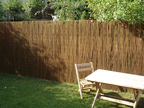Prestige Wicker Willow Fence Screening Rolls 3 meters long (4ft/120cm)