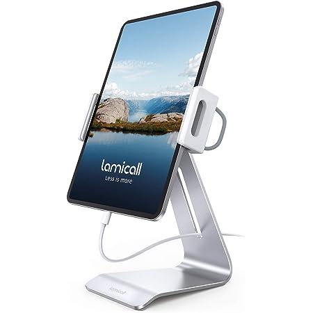 "Lamicall Supporto Tablet, Supporto Regolabile - Rotazione 360 Stand Dock per 4.7~13"" Tablet Come 2020 iPad PRO 9.7, 10.5, 12.9, iPad Air 2 3 4, iPad Mini 2 3 4, iPhone, Samsung Tab, Altri Tablets"