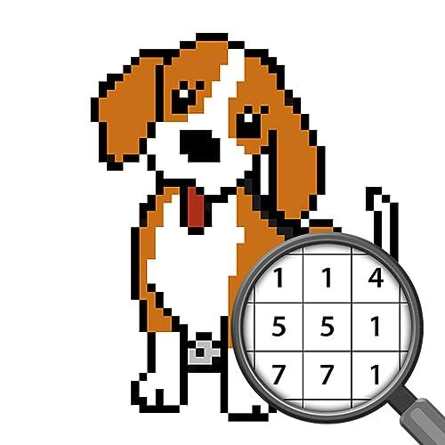 Malen Nach Zahlen Hund Ausmalbilder