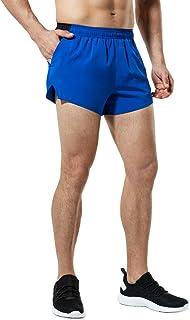 "TSLA Men's Active Running Shorts, Training Exercise Workout Shorts, Quick Dry Gym Athletic Shorts with Pockets 3""/ 4""/ 5"""