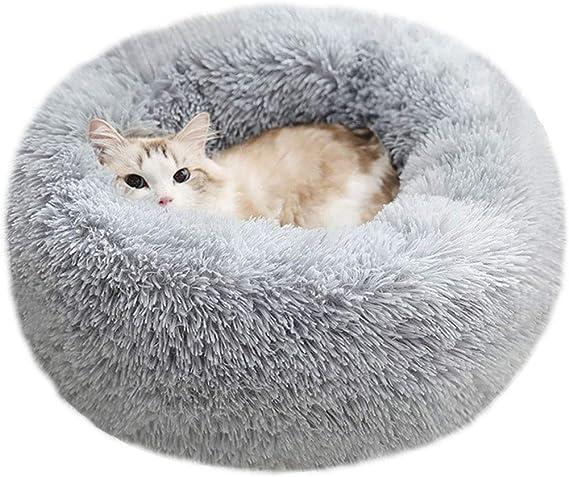 Plush Round Bed