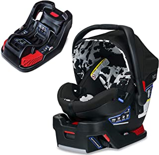 Britax B-Safe Ultra Infant Car Seat, Cowmooflage with Extra Base Bundle