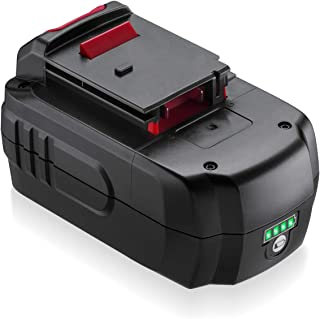 Upgraded 5.0Ah 18V Lithium Replacement for Porter Cable 18Volt PCB18 CC489N PCMVC PCXMVC cordless Tool Battery