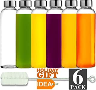 Best glass water bottle set Reviews