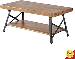 Best wood and metal coffee table with storage Reviews