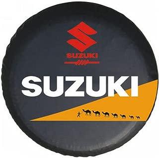 15 Inches Universal Spare Tire Type Cover Wheel Covers Compatible For Suzuki Vitara Samurai 27
