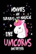 Nonnies Are Fabulous and Magical Like Unicorns Only Better: Best Grandmother Ever Unicorn Gift Notebook
