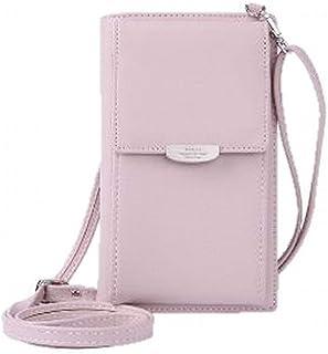 [プチハピ] スマホが入る ミニ ポシェット バッグ カード 小銭入れ 財布 としても