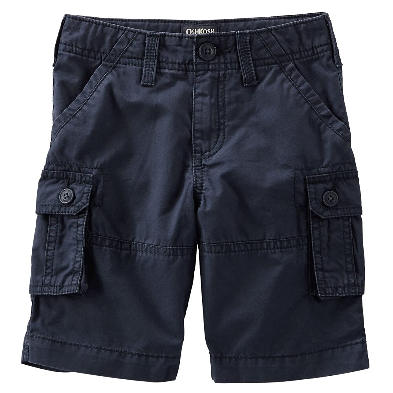 Carter 's Oshkosh B ' gosh幼児用Clothing Outfit Little Boys Cargo Shorts Navy カラー: ブルー