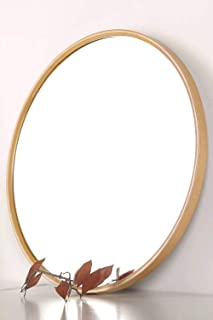 Best round wood wall mirror Reviews