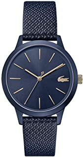 Lacoste Womens Quartz Watch, Analog Display and Leather Strap 2001091