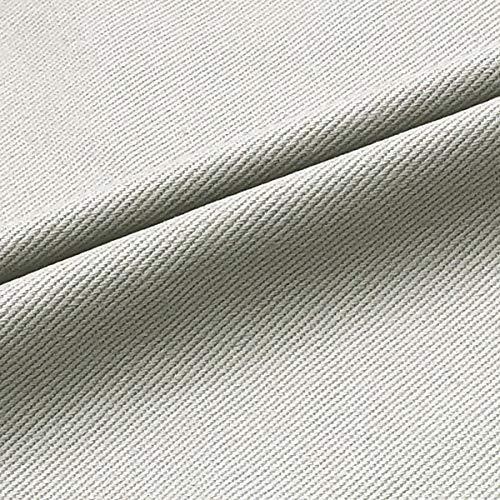 Tela de algodón puro lavado de color suave para manualidades, tela para pantalones vaqueros, camiseta, material de remiendo ropa de costura, abrigo de costura (tamaño: 4 m, color: 14 gris claro)