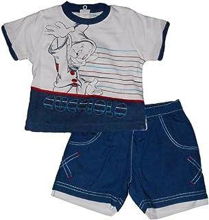 34bcf20bbe Disney Completo neonato t-shirt e pantaloncini 7 Nani Cucciolo