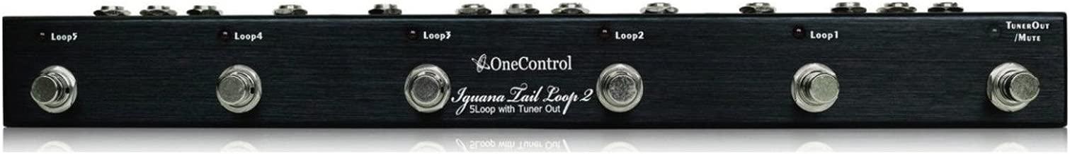 One Control OC5-II Iguana Tail 2 Loop Pedal Switcher