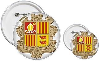 Andorra La Vella - Kit de création de boutons et de badges - Motif : Andorra