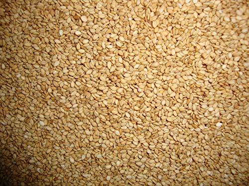 Graines de sésame grillées 2kg   Sésame grillé   100% naturel   Riche en vitamines et minéraux   Sans OGM   Riche en fibres   Convient aux végétaliens et aux Végans   sac refermable   Dorimed