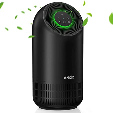 Air Purifier For Home| H13 True Hepa Filter 24Db Quiet 220 ft² 3-Stage Filtration Air Purifies Whisper | Air Cleaner Remove 99.99% Pet Odors Dust Pollen Smoke Household Mold | Optional Night Light