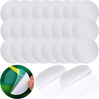 Outus Self-Adhesive Vinyl Repair Patch Plastic Repair Patches Kit for Swimming Pools Inflatable Boats Products (30 Pieces)